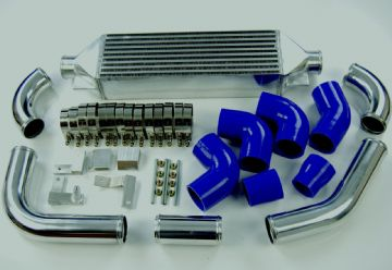 FMIC VAUXHALL ASTRA MK5 VXR 2.0T 04-09 FRONT MOUNT INTERCOOLER KIT BLUE 179.99